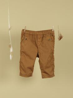 Pantalon caramel garçon TURING 19 / 19VV2372N03I806