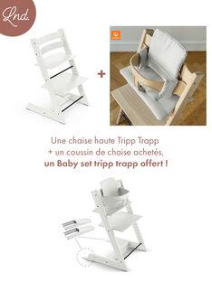 Chaise haute tripp trapp blanche CHAI TRIP BLANC / 20PRR2006CHH000
