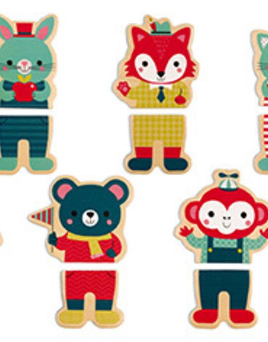 16 Magnets baby forest MAGNET BABY FOR / 17PJJO002JBO999