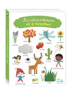 Livre Ma nature à découvrir et à toucher NATURE A DECOUV / 18PJME012LIB999