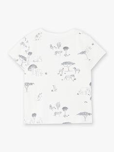 Tee Shirt Manches Courtes Vanille CAPLAN 21 / 21VU2011N0E114