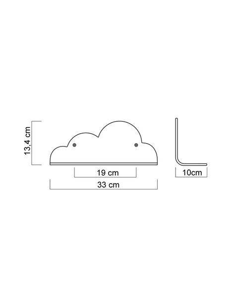 Etagere nuage ETAGERE NUAGE / 20PCDC002DMU999