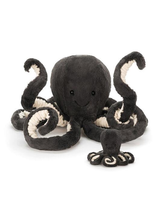 Peluche pieuvre Inky Jellycat noire 49 cm PIEUVRE INKY49 / 18PJPE015MPE999