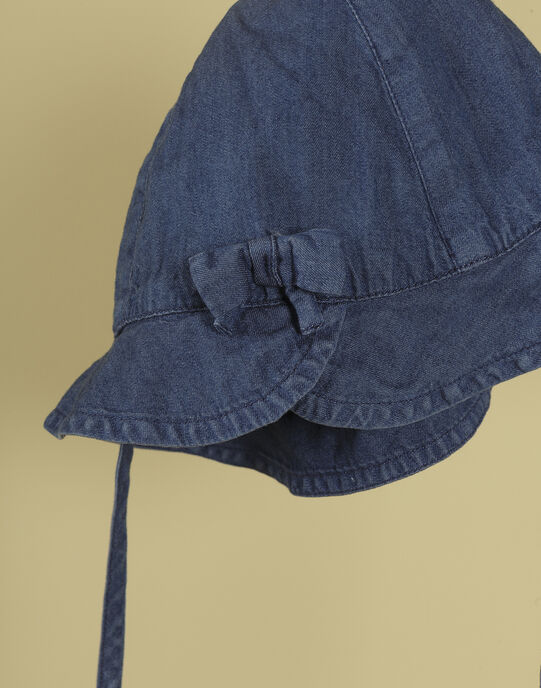 Chapeau bleu jean fille TEBLISSIA 19 / 19VU6023N55704