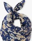 Foulard fille en imprimé floral Liberty bleu ABRUNE 20 / 20VU6014N88099