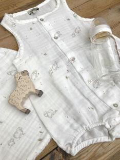 Barboteuse imprimé mouton naissance DOUBARBOTE 21 / 21PV2411N27114