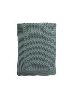Couverture tricot Mies & Co verte 80x100 cm 0-6 mois COUV TRICOT VER / 19PCTE008DEL999