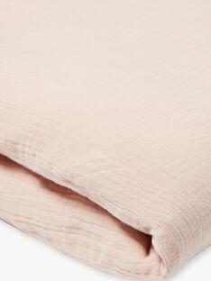 Housse de couette rose gaze de coton fille  KOLINE-EL / PTXQ6211NA1030