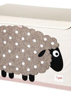 Coffre à jouets Mouton COFFRE MOUTON / 17PCDC003APD999