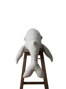 Peluche Baleine Albino 83 cm PEL BALEINE ALB / 21PJPE003GPE080