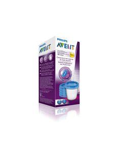 Pots de conservation lait maternel 180ml x5 POT CONS LAI 18 / 21PRR1004ABI999