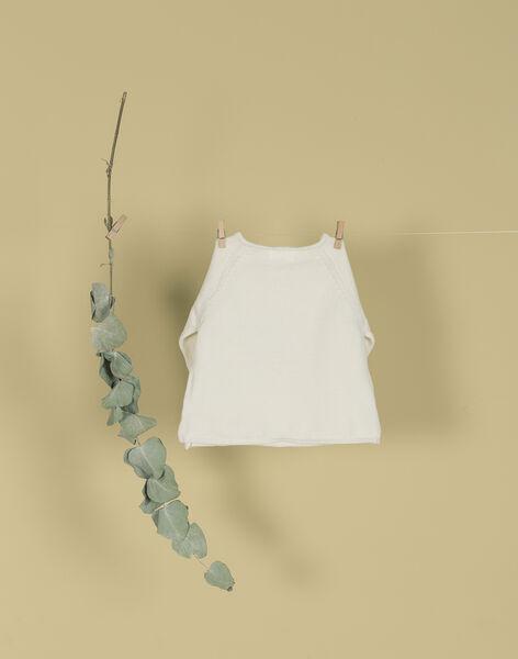 Brassière en laine lapin vanille mixte TABOU 19 / 19PV2423N2A114
