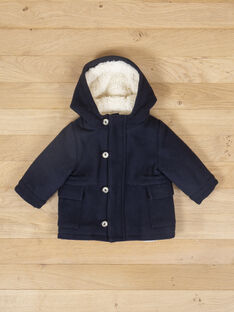 Manteau en lainage gris garçon VIKESH 19 / 19IU2032N16944
