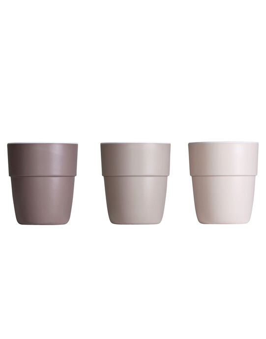 Lot de 3 verres mini-mugs roses Yummy LOT 3 MUG YUM R / 18PRR2014VAI999