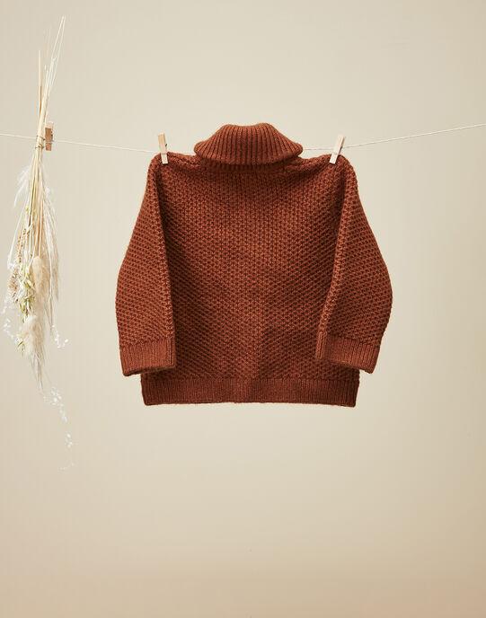 Gilet en tricot fantaisie garçon  VELAY 19 / 19IU2034N12944