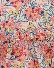 Robe et bloomer fille en imprimé fleurs Liberty rose  AMOLIVIA 20 / 20VV2215N18030