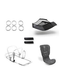 Accessoire poussette Gris chiné B5 SET GRIS CHI / 19PBPO003AAP943