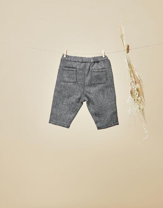 Pantalon lainage avec chevrons garçon VANNEAU 19 / 19IV2311N03090