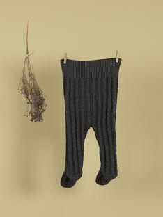 Pantalon à pied côtelé gris anthracite mixte TOLKI 19 / 19PV2423N03944