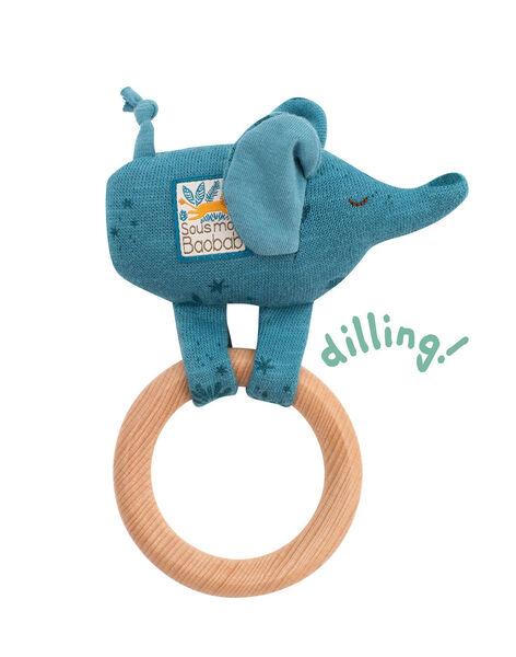 Hochet anneau bois elephant moulin roty HOCHET ELEPHANT / 20PJJO002HOC999