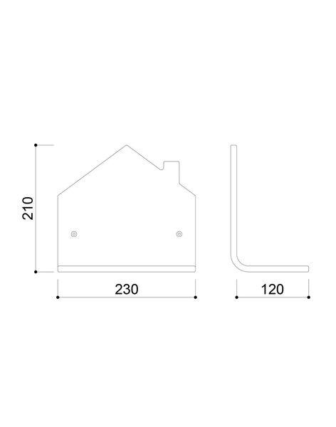 Étagère maison ETAGERE MAISON / 20PCDC005DMU999