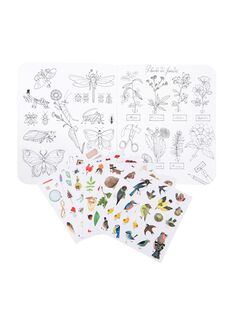 Cahier de coloriage et de stickers CAH COLOR STICK / 21PJME003PAP999