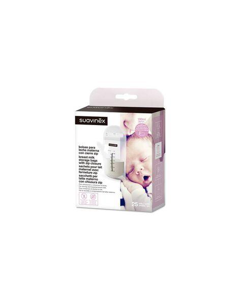 Sachets pour lait maternel fermeture zip x25 SACHET LAIT X25 / 21PRR1001ABI999