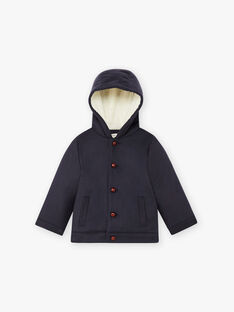 Manteau bleu marine laine cachemire enfant garçon DUMAS 468 21 / 21I129211N16070