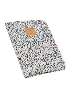 Pochette à langer à pois Lässig noire & blanche 25,5x18x2,5 cm POCH CHANGE OFF / 19PSSO016AHY999