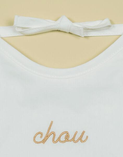 Bavoir vanille Chou mixte TABACHOU 19 / 19PV5923N72114