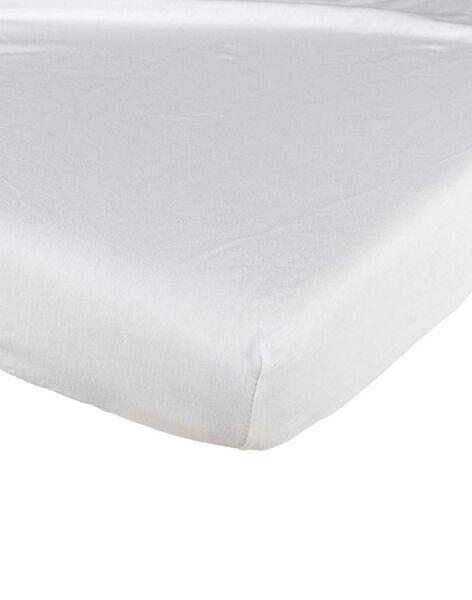 Drap-housse berceaux Candide blanc 40x90 cm DRAP H BL 40X90 / 19PCTE008DRA000