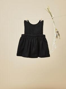 Robe tablier noire bébé fille VICTORIENNE 19 / 19IU1911N18090
