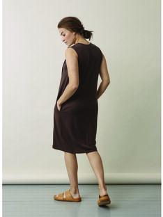 Robe de grossesse & allaitement Lil Boob marron BOLIL / 20VW2642N18I811