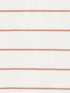 Body vanille rayé en coton pima BRAN 20 / 20IU2051N67114