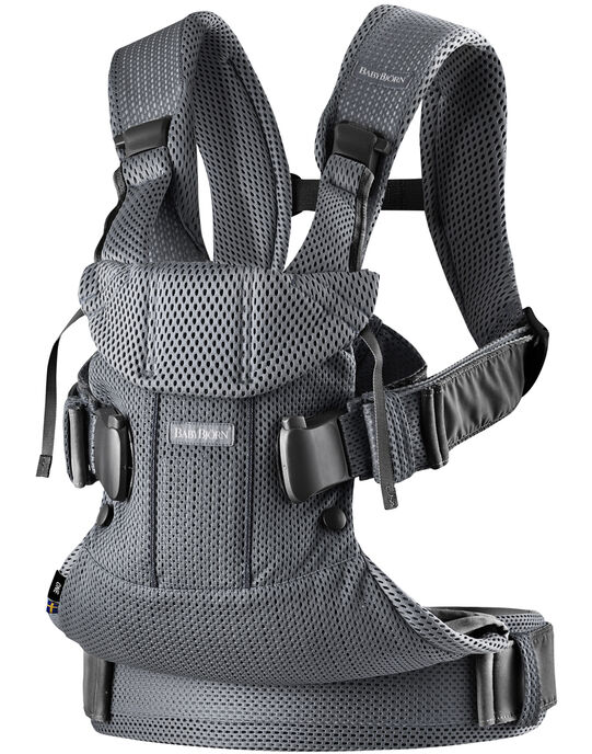 Porte-bébé One Air en mesh gris anthracite PBB ONE AIR ANT / 19PBDP003PBB942