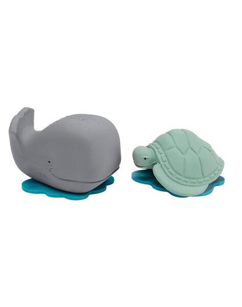 Coffret jouets de bain baleine et tortue B1 BALEIN TORTU / 20PJJO007JBA999