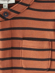 Tee Shirt Manches Longues Rouille BRIGHTON 20 / 20IU20C1N0F408
