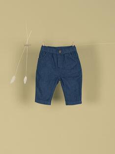Pantalon bleu jean garçon TURNER 19 / 19VV2371N03704