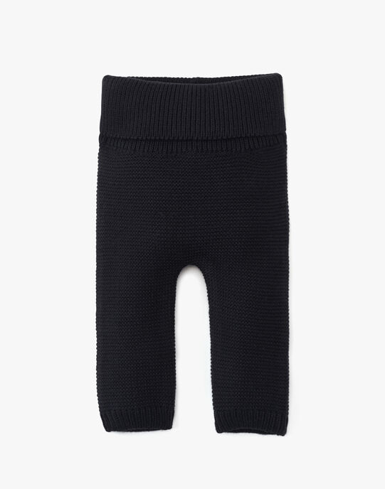 Pantalon mixte ardoise en coton cachemire AUBE 20 / 20PV2412N3AJ900
