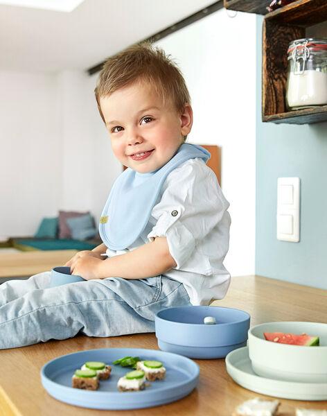Lot 2 assiettes Lässig menthe & bleue dès 6 mois ASSIET MENT AIR / 19PRR2021VAI999