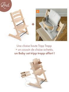 Chaise haute tripp trapp naturelle TRIP TRAP NATUR / 20PRR2003CHH009