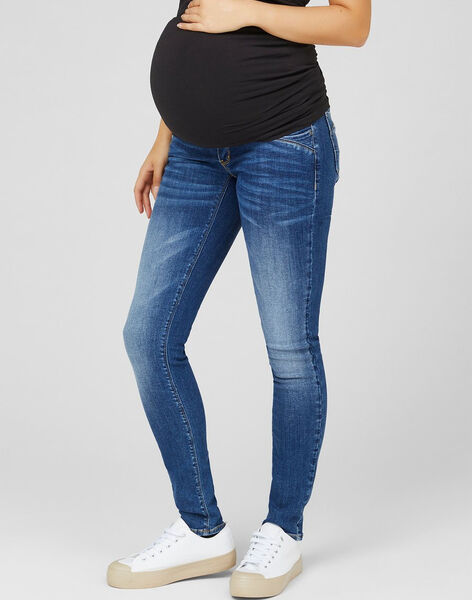 Jean de grossesse slim Mamalicious bleu moyen MLSAVANNA SLIM / 20VW2643N44P270