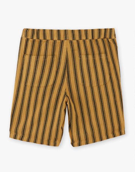 Short garçon rayé couleur bronze  CHUCK 468 21 / 21V129213N01900