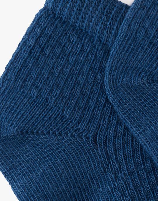 Chaussette courte bleu moyen garçon  ALEJANDRO 20 / 20VU6111N47208