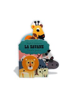 """Livre imagier """"La Savane"""" Marcel & Joachim 18x13 cm dès 2 ans LA SAVANE / 19PJME008LIB999"""