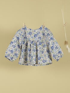 Blouse en liberty fille TULIPE 19 / 19VV2271N09114