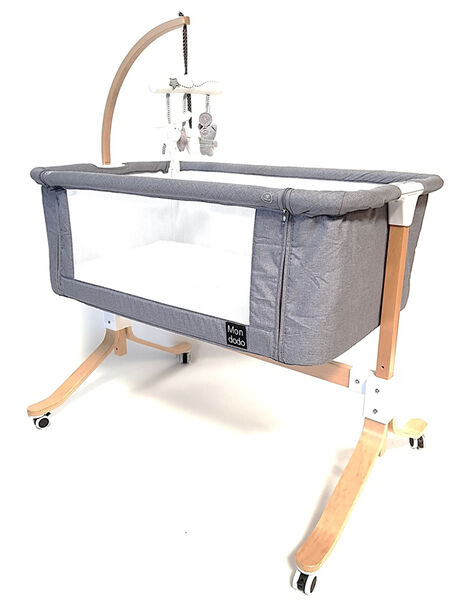 Berceau de cododo Libellule gris 96x56 cm (0-1 an) BERCEAU CODODO / 18PCMB001BRC999