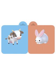 Carnet autocollant animaux de la ferme 2 ans ANIMAUX FERME2A / 17PJME002LIB600
