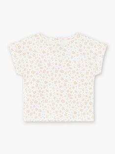 Tee Shirt Manches Courtes Vanille CLEIA 21 / 21VU1912N0E114