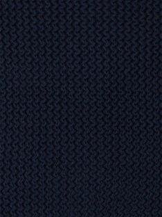 Gilet tricot garçon marine coton biologique  CURTIS 21 / 21VU2011N12070